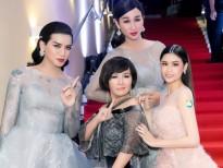 Trương Quỳnh Anh, Ngân Quỳnh trở nên 'bé nhỏ' khi đứng cạnh 'công chúa' BB Trần & Hải Triều