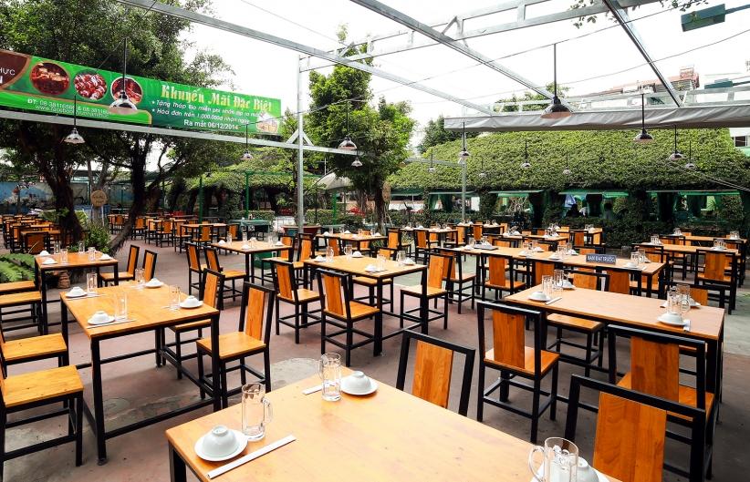 Vườn ẩm thực Lộc Ấn: Không gian xanh mát cùng hương vị khó quên…