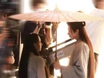 Hậu trường 'An Lạc Truyện': Lưu Vũ Ninh và Địch Lệ Nhiệt Ba bùng nổ cảm giác couple, cư dân mạng nhiệt tình đẩy thuyền
