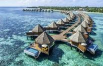 Ngắm bình minh ở đảo thiên đường Maldives
