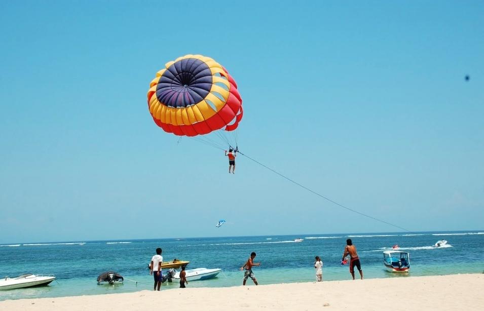 Đến Bali, phải thử trò chơi mạo hiểm!