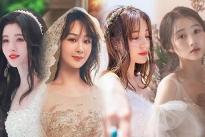 Sao Hoa Ngữ làm cô dâu, Angela Baby, Địch Lệ Nhiệt Ba hay Triệu Lộ Tư... đẹp nhất?