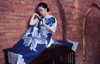 Linh Nga nổi bật không kém Phạm Băng Băng trong trang phục Á Đông cách tân