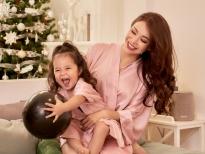 Trà Ngọc Hằng cùng con gái làm bánh, dọn dẹp nhà cửa chuẩn bị đón Tết