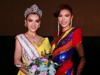 Minh Tú diện đầm lục sắc xúc động cảm ơn cộng đồng LGBT Việt Nam