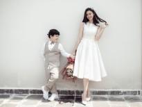 Hai mẹ con Trương Quỳnh Anh ngọt ngào và đáng yêu trong bộ ảnh mới