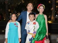 Thu Trang - Tiến Luật lần hiếm hoi đưa con trai cưng Andy đi sự kiện