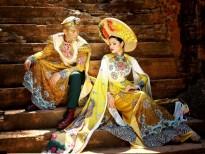 Ca sĩ Thanh Hùng và Á hậu Diễm Nhi cùng tái hiện vương triều xưa