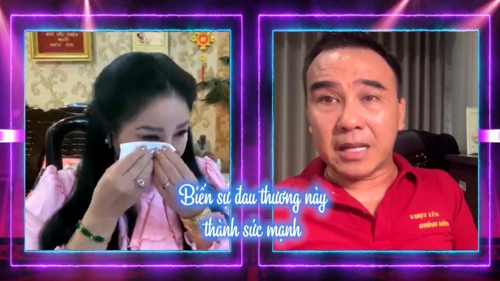 MC Quyền Linh khóc nghẹn trải lòng về hành trình cứu trợ tại 'Sài Gòn ta thương'