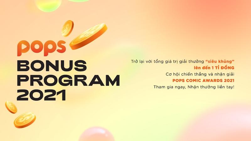 Cuộc thi 'POPS Bonus Program 2021': Cơ hội có 1-0-2 cho các tác giả truyện tranh tỏa sáng
