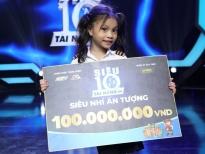 Tài năng đu dây 5 tuổi nhận giải Ấn tượng nhất 'Siêu tài năng nhí' mùa 2