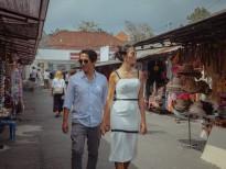 Trang Lạ cùng chồng bác sĩ mê đắm Bali