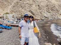Lý Hải - Minh Hà 'trốn con' đi du lịch ở Hy Lạp