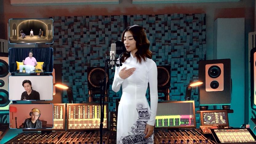'The Heroes': Lona mặc áo dài trắng, sản xuất MV cổ vũ mùa dịch khiến Khắc Hưng 'chiếm hết sóng' khen ngợi