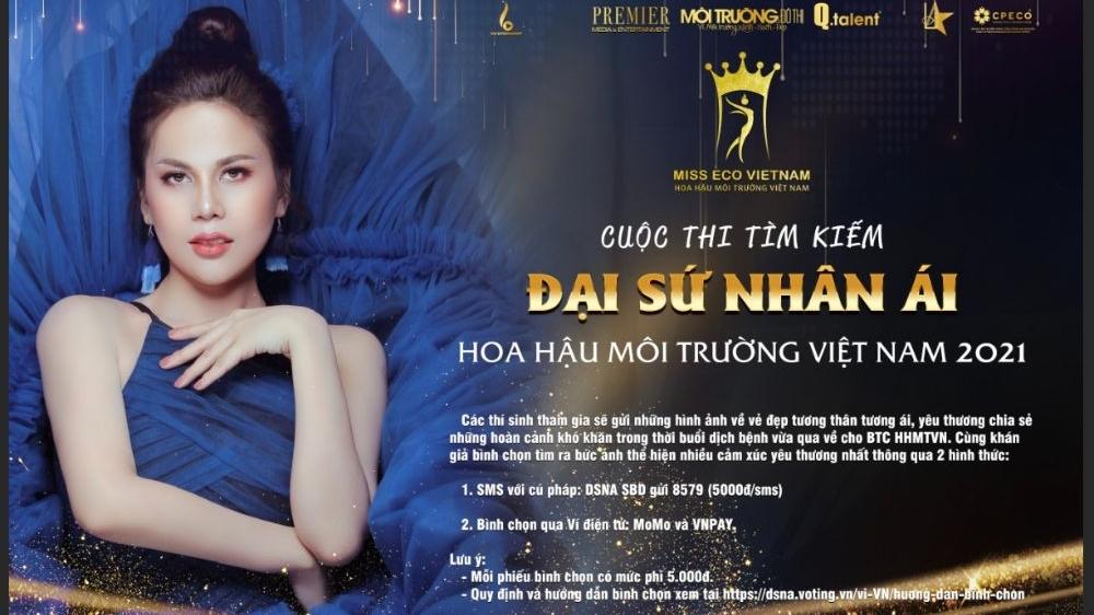 Tìm gương mặt Đại sứ nhân ái cho cuộc thi 'Hoa hậu môi trường Việt Nam'