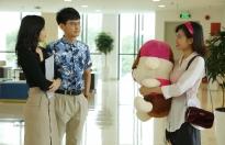 Lê Lộc vướng mối tình 'oan gia ngõ hẹp' với Quang Thái trong 'Văn phòng đại chiến'