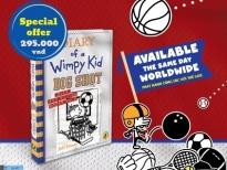 Best-seller 'Diary of a wimpy kid' phát hành tập 16 tại Nhà sách Phương Nam cùng lúc với thế giới