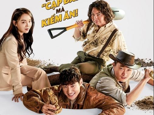 'Kẻ săn mộ': Ông hoàng phòng vé tháng 11 Hàn Quốc tung trailer hấp dẫn và kịch tính