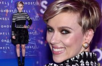 Scarlett Johansson tươi rói sau khi ly hôn