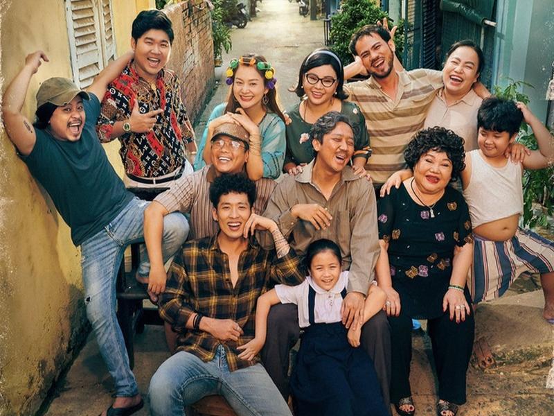 Bi hài câu chuyện gia đình trong phim 'Bố già'