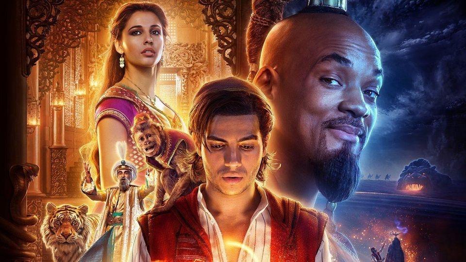 Thế giới đầy màu sắc và vui nhộn trong 'Aladdin'
