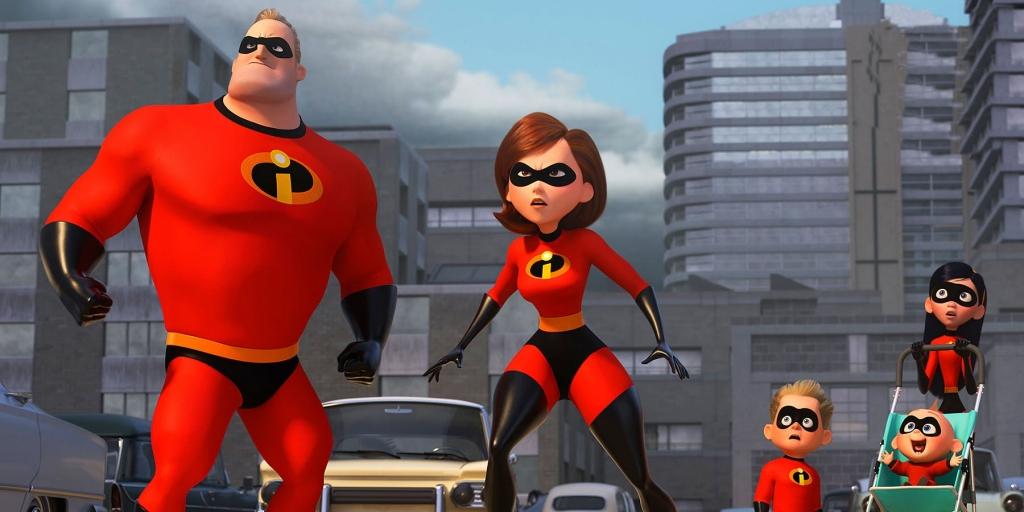 Gia đinh siêu nhân đã trở lại và lợi hại hơn xưa trong 'Incredibles 2'