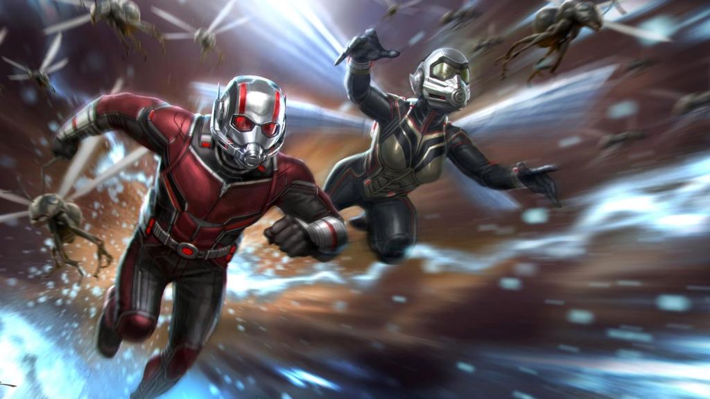 Siêu anh hùng Người Kiến quay trở lại với cộng sự mới trong 'Ant Man And The Wasp'