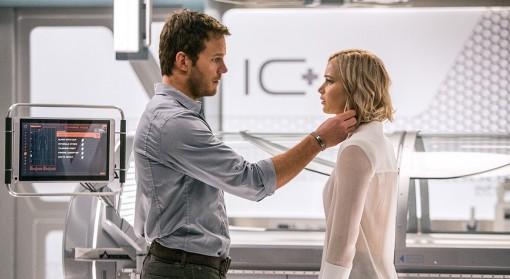 Cùng ngắm mối tình xuyên thời gian và không gian của Chris Pratt và Jennifer Lawrence trong trailer