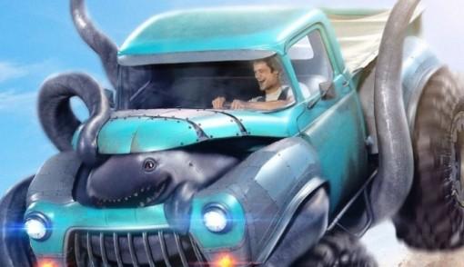 Ấn tượng những con quái vật trong xác ô tô khi xem trailer